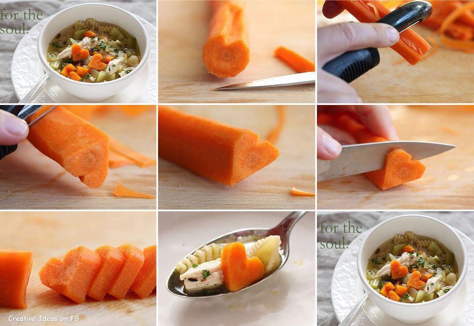 Моркови-сърчица